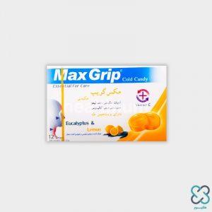 آبنبات ویتامین سی لیمویی مکس گریپ