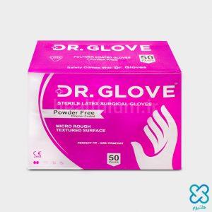 دستکش جراحی استریل 7 پودر دار Dr. Glove