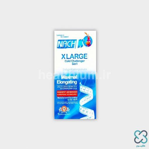 کاندوم ناچ کدکس سایز بزرگ Kodex XLARGE cold challenger 5 in 1