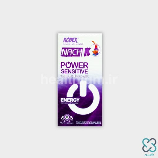 کاندوم ناچ کدکس بسیار نازک و حساس Kodex POWER SENSITIVE