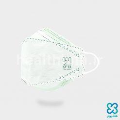 ماسک سه بعدی (سه تکه) 3D سبز KF94 فست