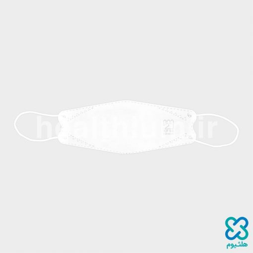 ماسک سه بعدی (سه تکه) 3D سفید KN94 فست