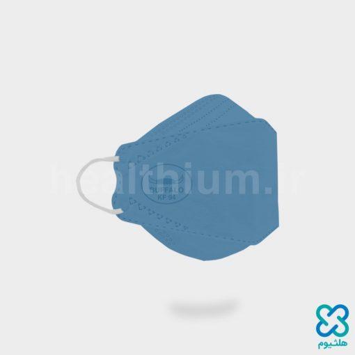 ماسک سه بعدی 3D کودک آبی KF94 بوفالو