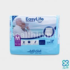 پوشک شورتی بزرگسالان ایزی لایف (EasyLife) سایز متوسط (Medium)