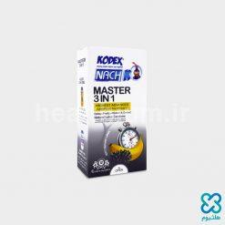 کاندوم ناچ کدکس تاخیری مستر Kodex Master 3 In 1