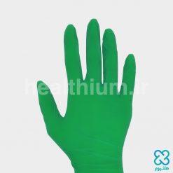 دستکش نیتریل سایز Medium رزمریم (Nitrotex)