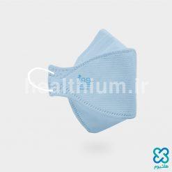 ماسک سه بعدی کودک آبی روشن N99 نانو الیاف ریما رسپی نانو
