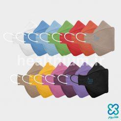 ماسک سه بعدی کودک رنگین کمان N99 نانو الیاف ریما رسپی نانو