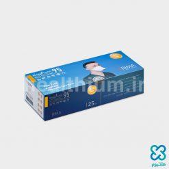 ماسک تنفسی نانو الیاف N95 ریما رسپی نانو مدل Flat Fold (بسته ۲۵ عددی)