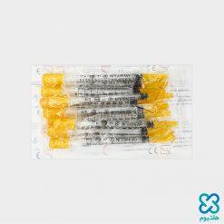 سرنگ انسولین سرسوزن متصل یک میلیلیتر سها