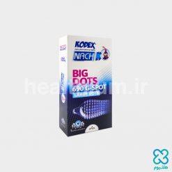 کاندوم ناچ کدکس تاخیری خاردار Kodex CACTUS