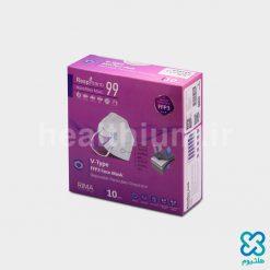 ماسک تنفسی بدون سوپاپ هپی V-Type N99 رسپی نانو